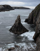Sea Stack, Seilebhig, Mhangarstadh, Lewis