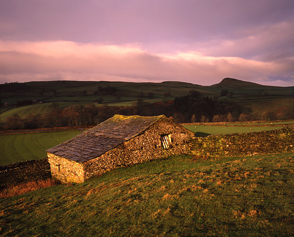 Andy Latham Landscape Photography Barn Near Stainforth