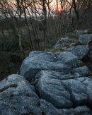 Sunset, Warton Crag