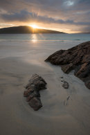 Sunset over Taransay, Harris