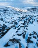 Thwaite Scar in Winter 02