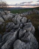 Winter Evening, Newbiggin Crags