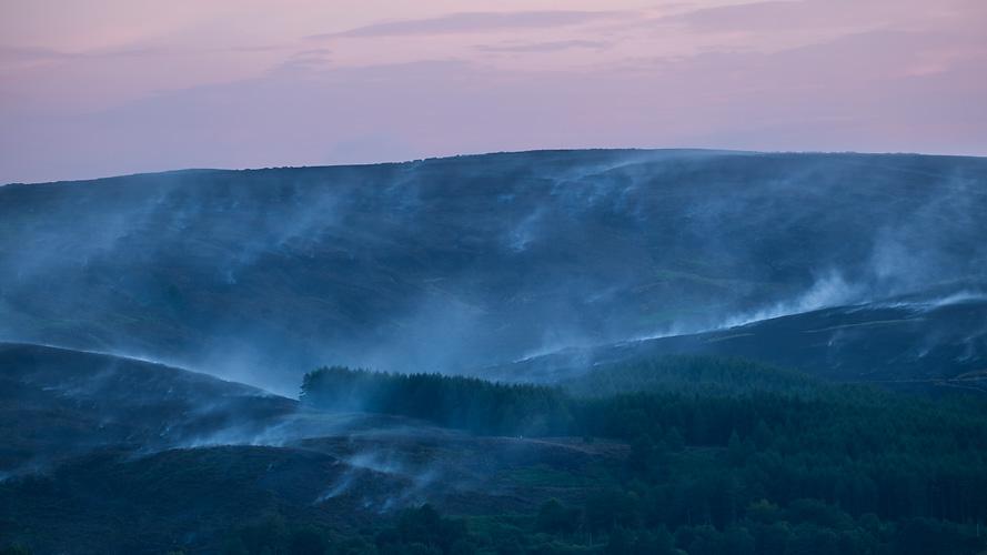 Winter Hill Fire 06
