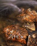 Golden boulder