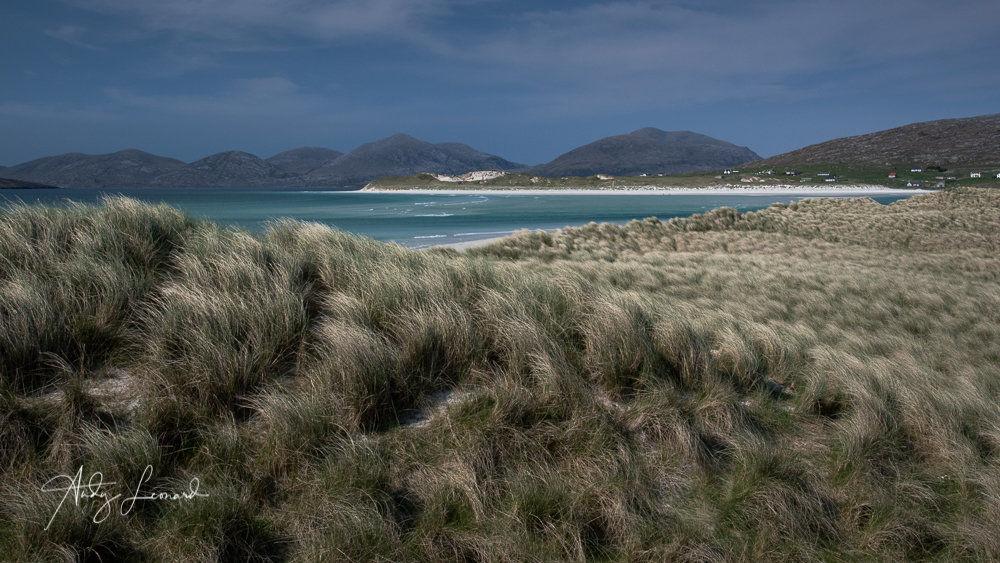 Seilebost towards Luskentyre Beach, Isle of Harris
