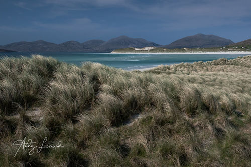 Seilebost towards Luskentyre Beach, Isle of Harris