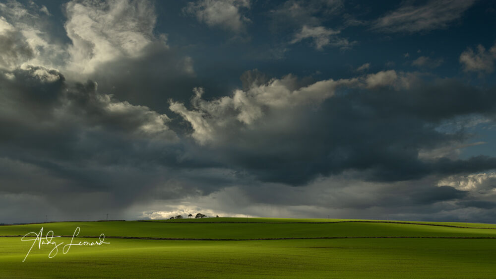 Light before the storm, Quilquox, Aberdeenshire