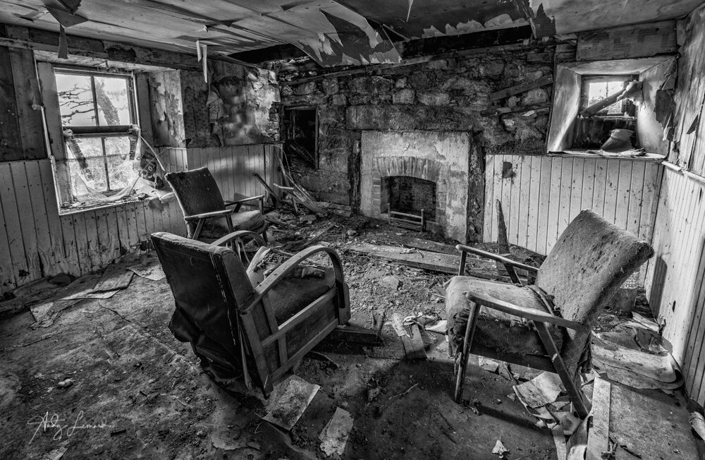 Abandoned Cottage in the Cabrach, Moray, Scotland