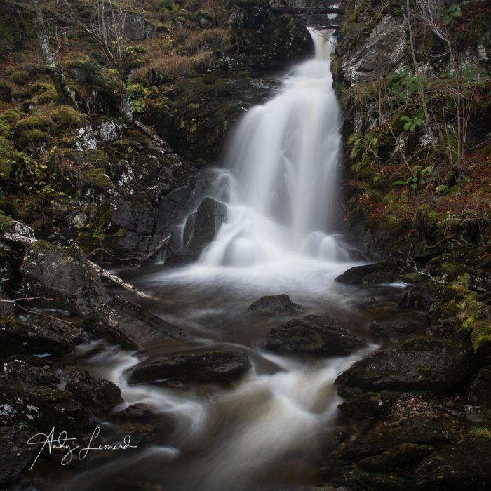 Allt Da Ghob waterfall Glen Lyon