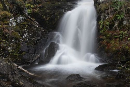 Allt Da Ghob waterfall Glen Lyon