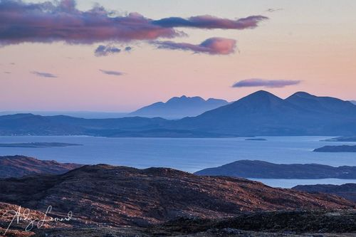 Applecross towards Skye