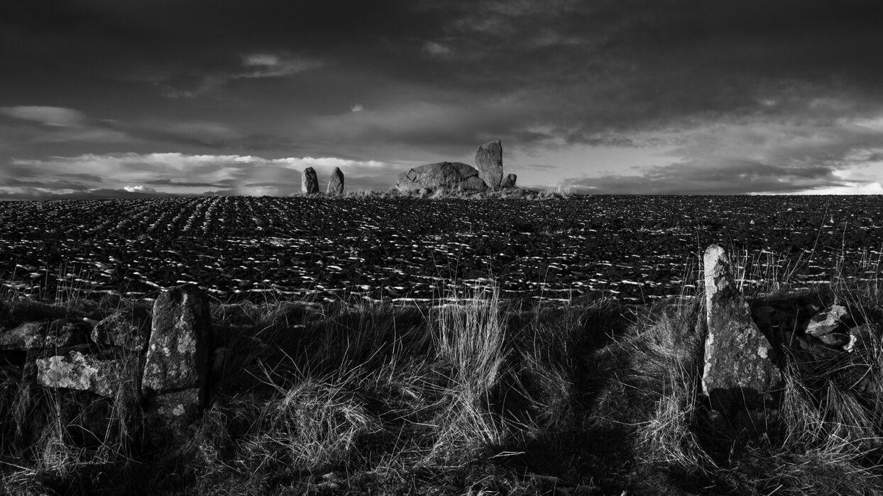 Bourtie stone circle, Aberdeenshire