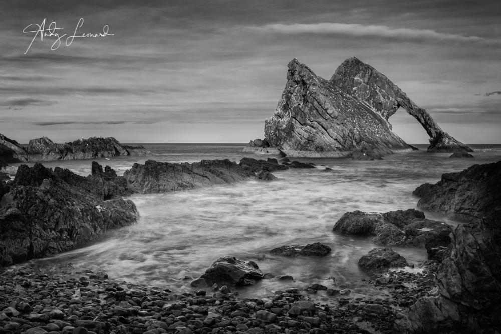 Bow Fiddle Rock, Portknockie on the Moray Coast