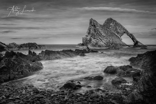 Bow Fiddle Rock, Portknockie on the Moray Coast