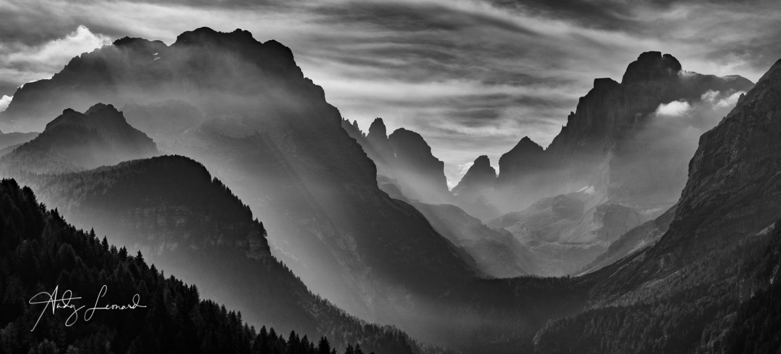 Brenta Mountains, Dolomites, Italy