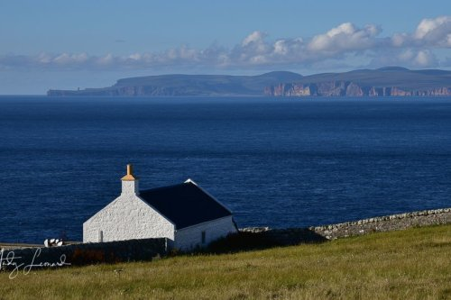 Dunnet Head towards Hoy