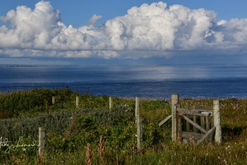 Dunnet Head towards South Ronaldsay