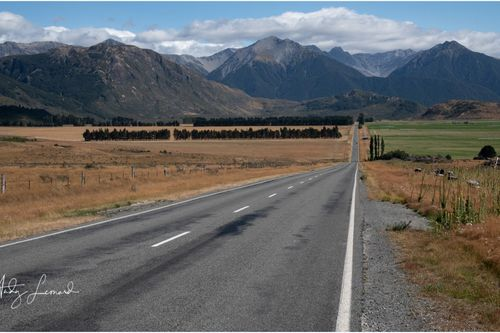 Highway 73, towards Arthur's Pass