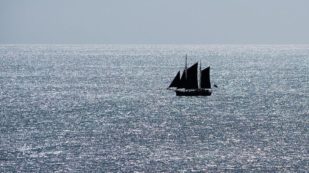 In a Silver Sea, off Cruden Bay