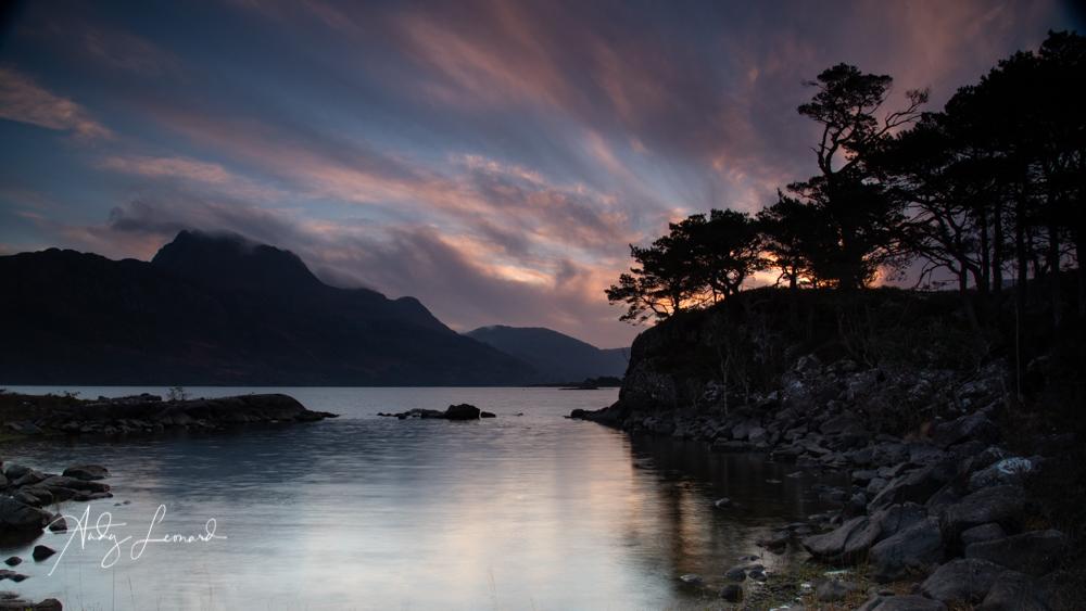 Loch Maree, sunrise