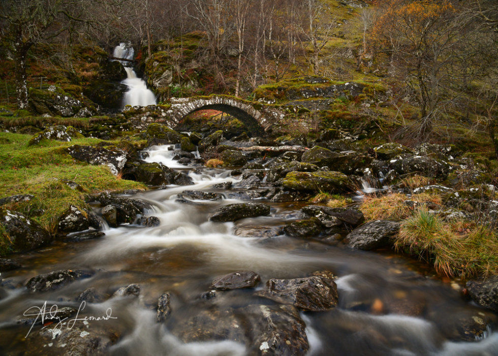 Pack Horse Bridge, Glen Lyon