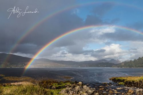 Rainbow over Loch Sunart