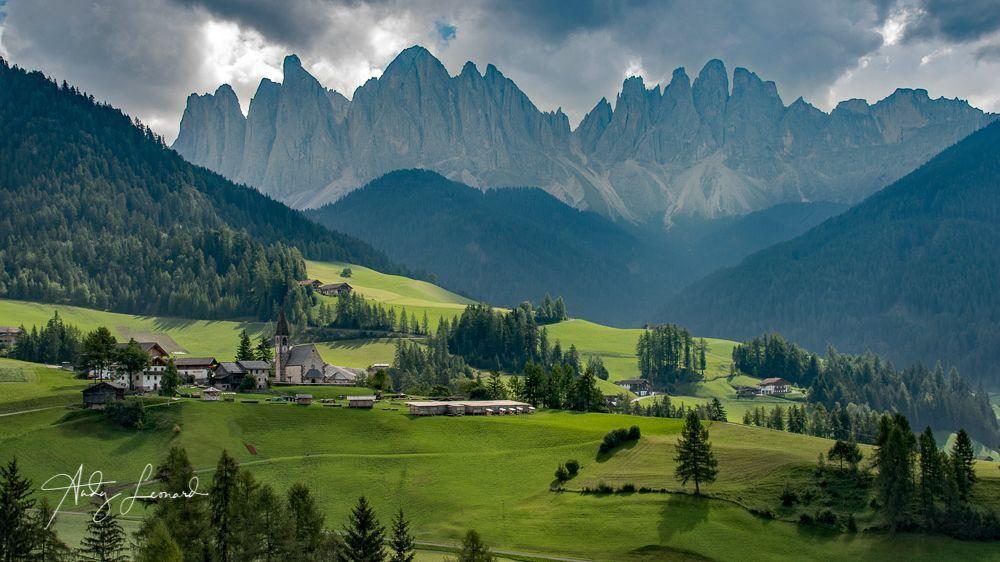 Santa Maddelena Alta, Italian Dolomites