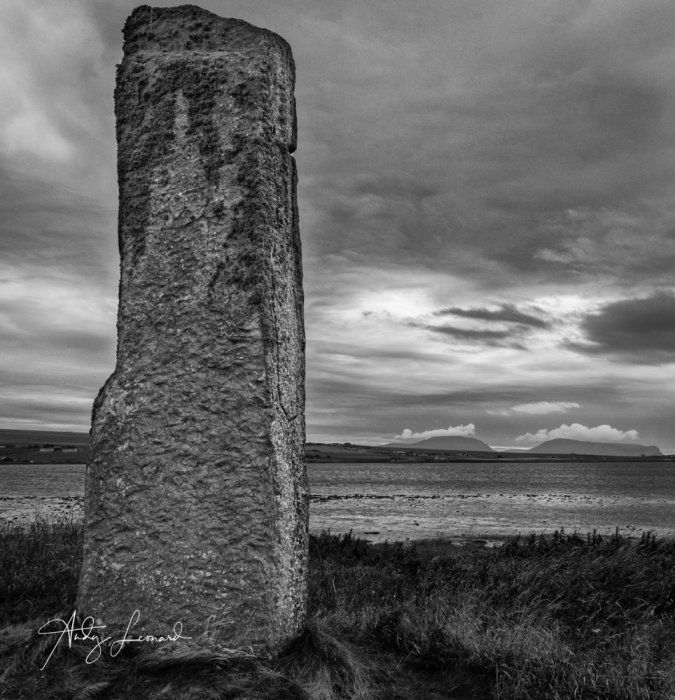 The Watch Stone, Stenness, Orkney
