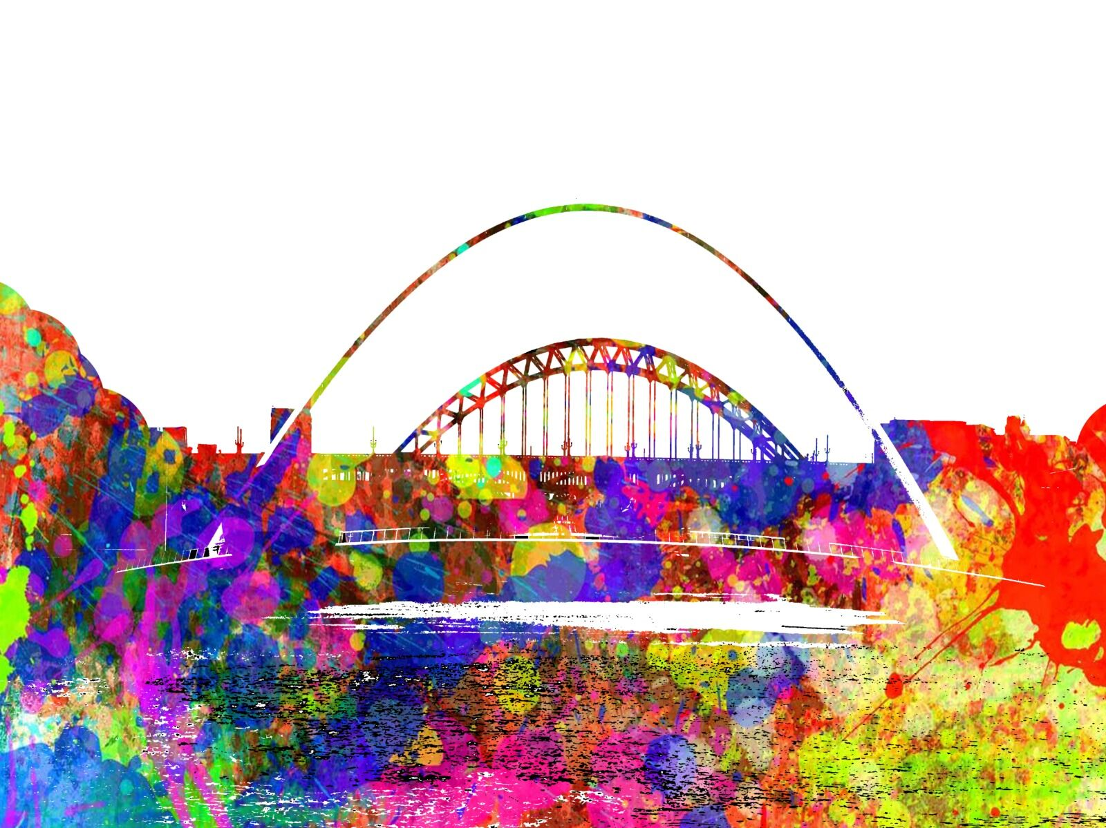 Five Bridges Newcastle Quayside