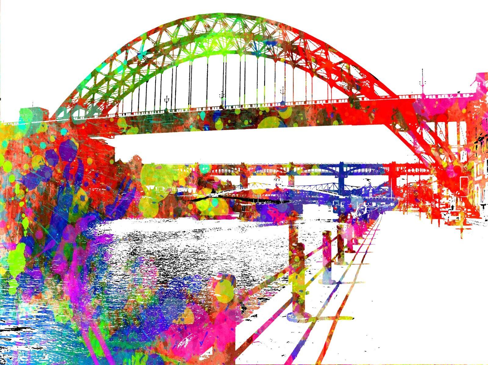 Quayside Tyne Bridge