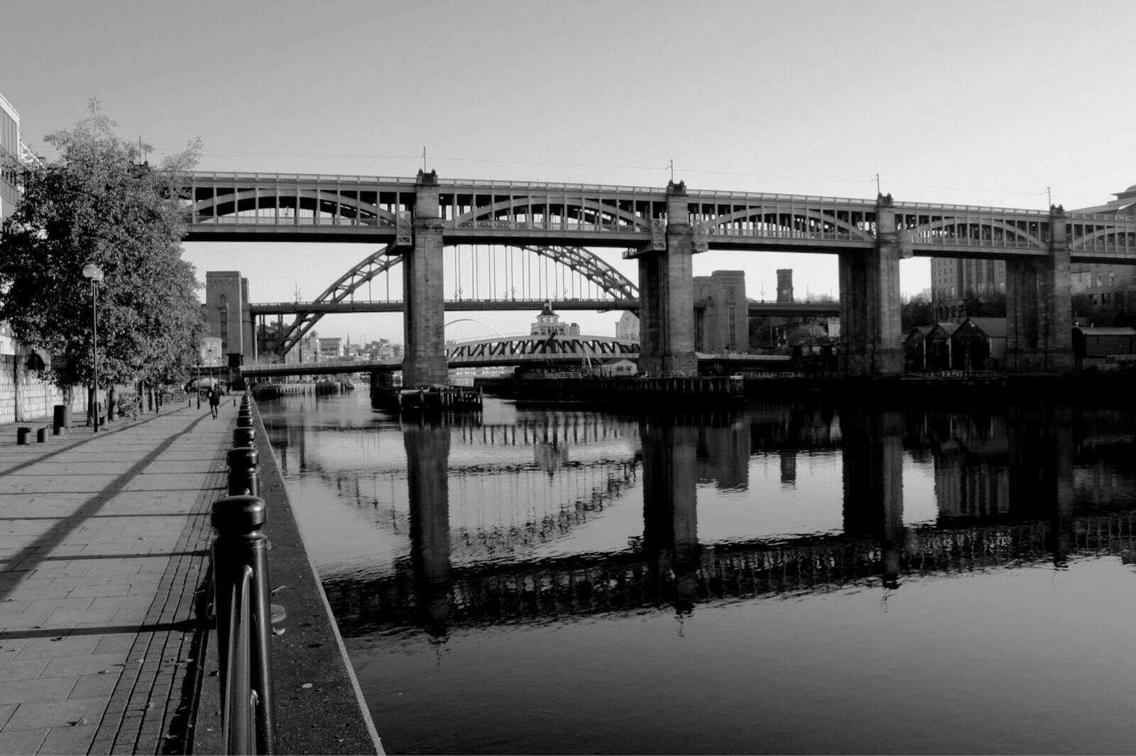 Quayside Reflection