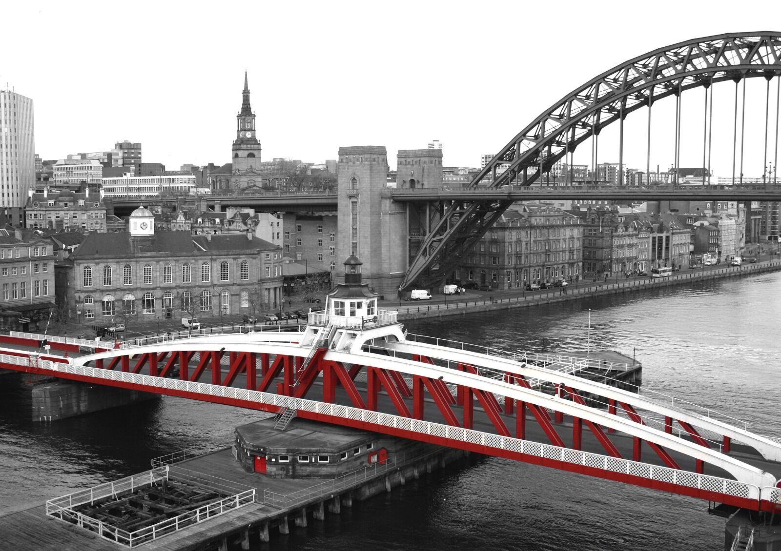 Colour Splash Swing Bridge