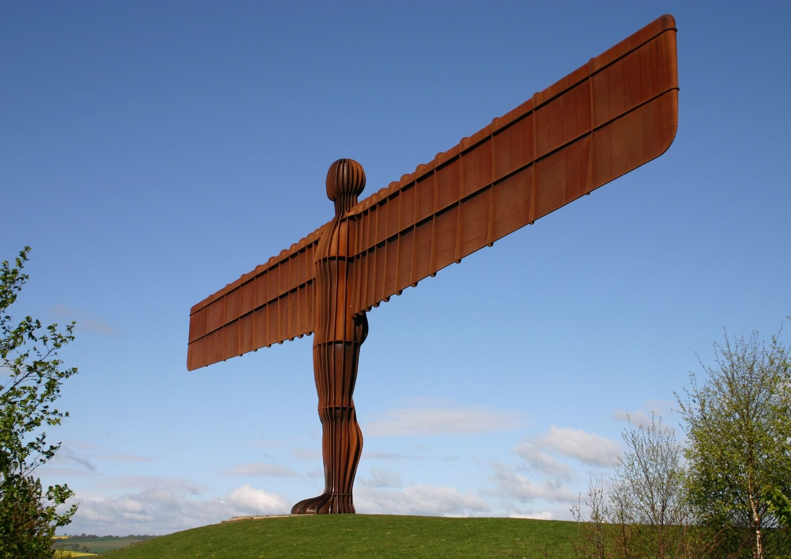 Angel Of The North Gateshead  Colour