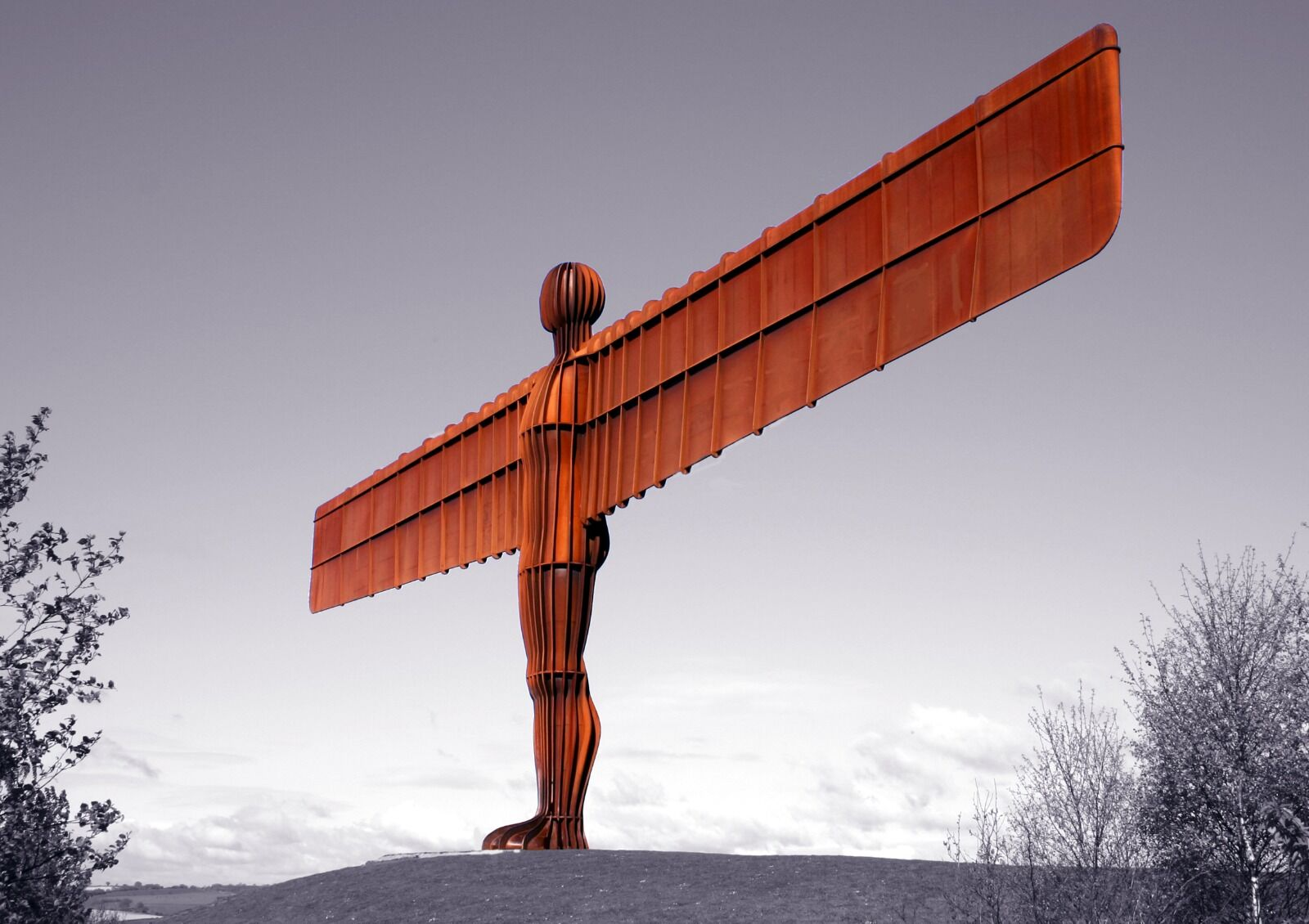 Angel Of The North Gateshead  Colour Splash