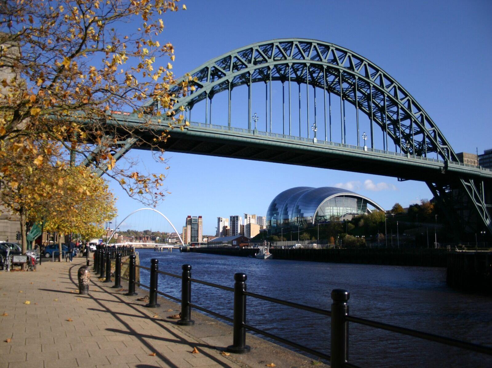 Newcastle Tyne Bridge  Autumn