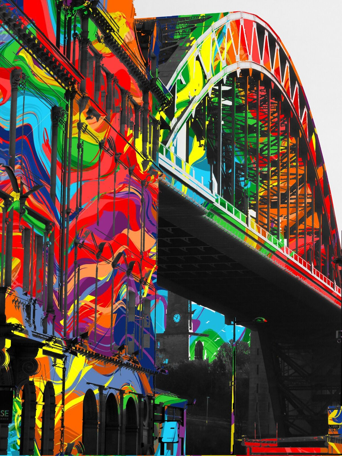 Newcastle Tyne Bridge Chase Bar