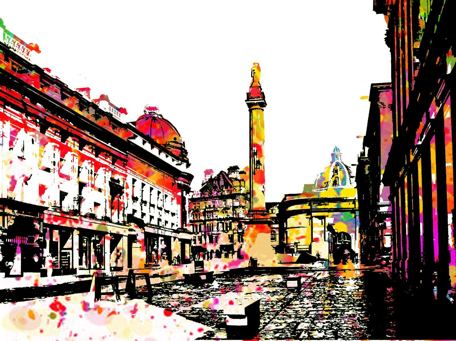 Greys Monument Newcastle City Centre