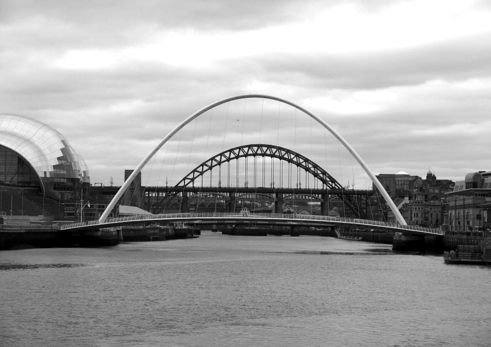 The Five Bridges and the Sage Gateshead