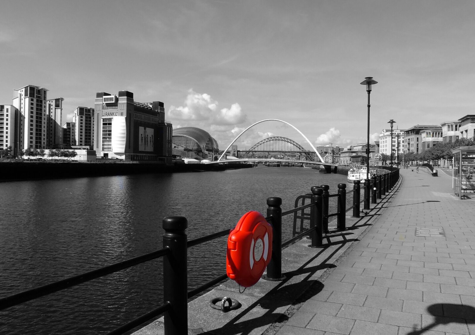 Newcastle Quayside Colour Splash