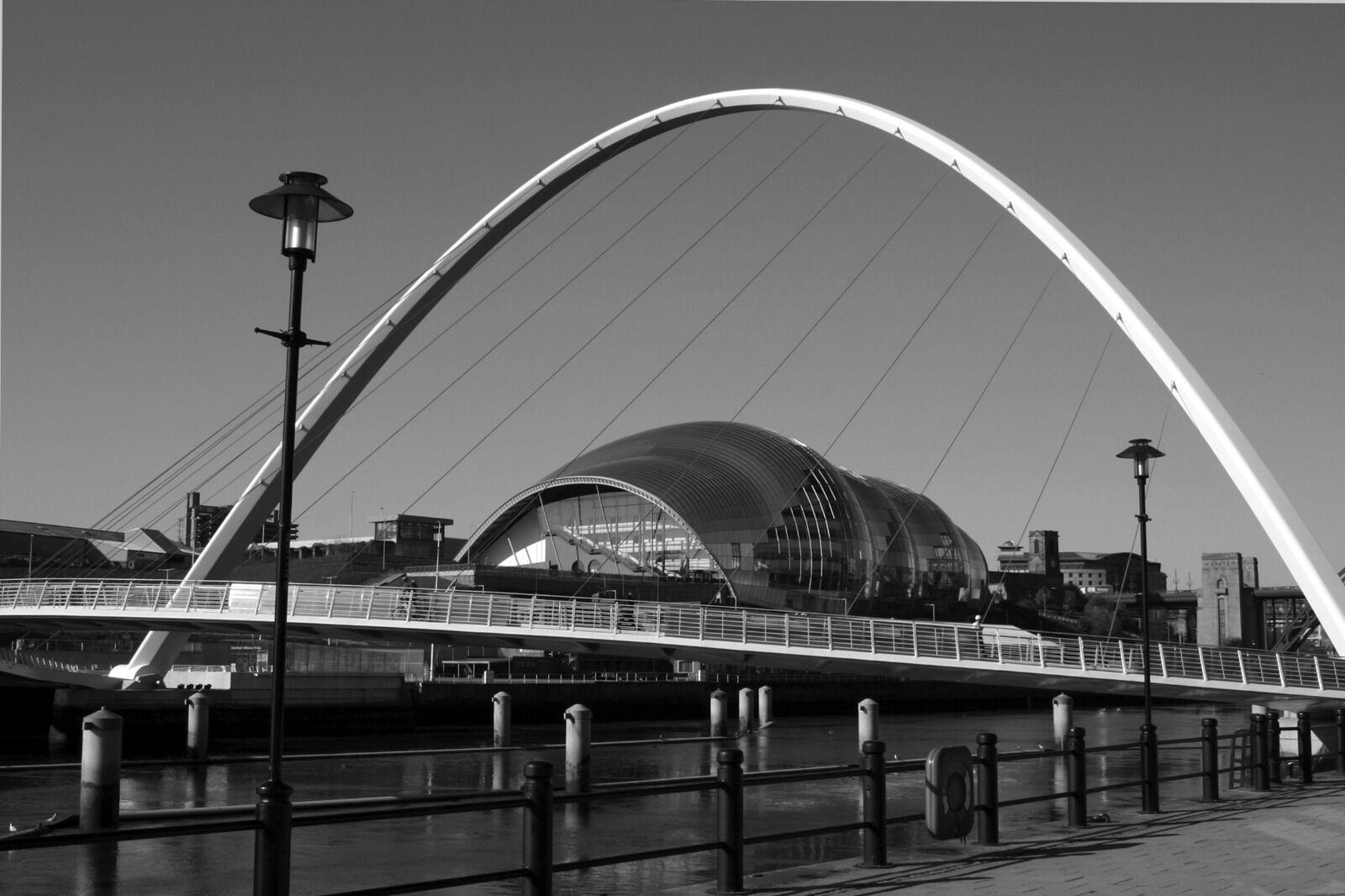 Millennium Bridge and Sage Gateshead