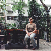 Noi, staff at Libra Guest House