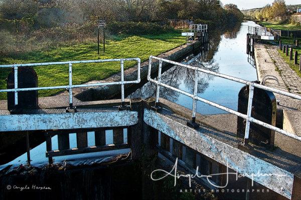 Photograph Blackburn Meadows Canal Sheffield