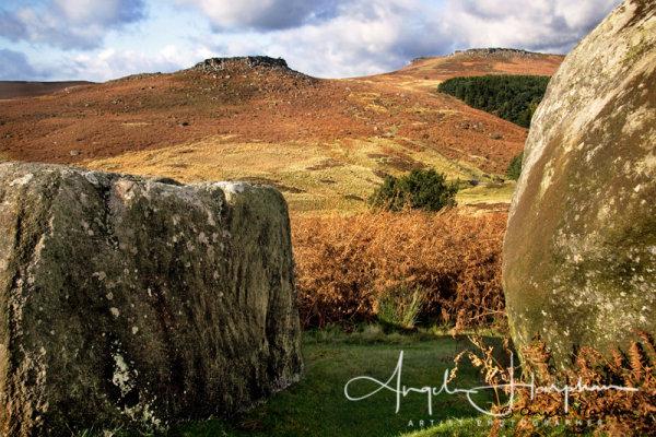 Derbyshire Burbage Moor & Higger Tor