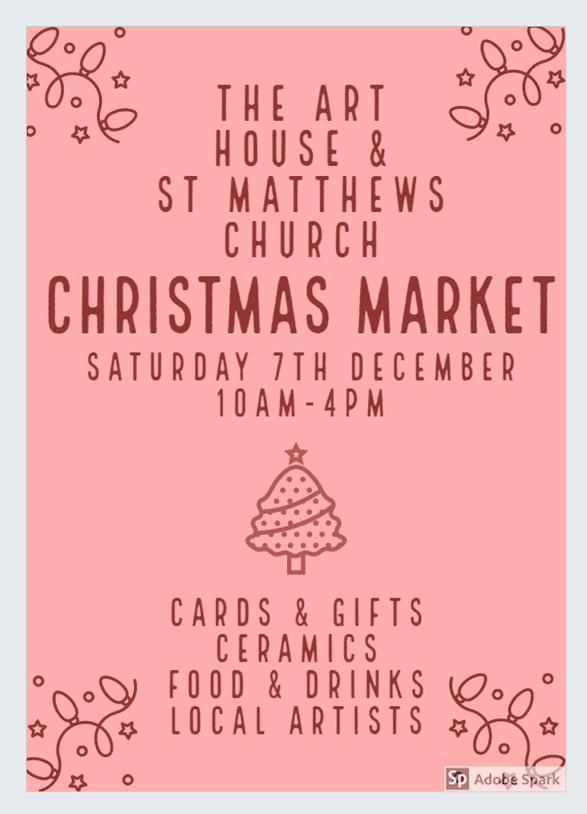 Art House Christmas Market December 2019