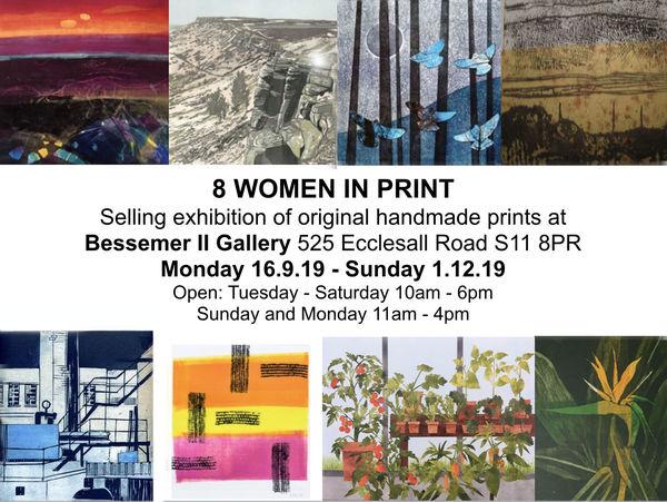 8 Women in Print at Bessemer II Gallery