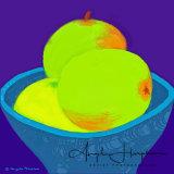 Digital Drawing Green Apples