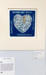 Hearts and Bones Collograph