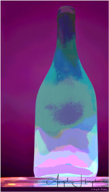 Magic Carpet Bottle Photograph