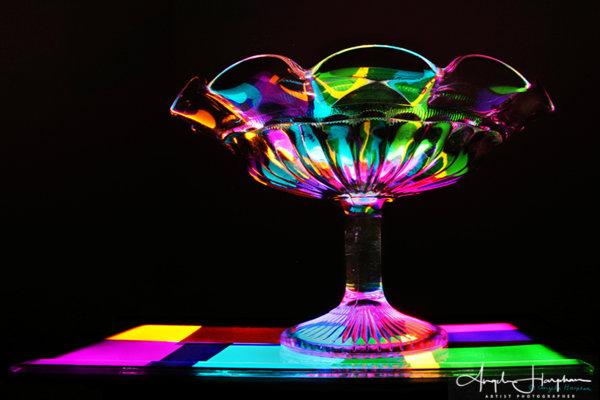 Magic Carpet Swish Dish Photograph
