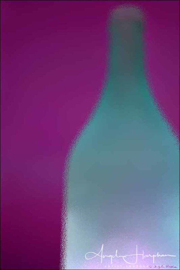 Opaque Shimmer Bottle Photograph